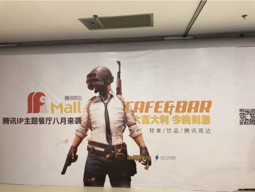 PUBG va a tener su propio bar en China, ¿te apetece cenar pollo? 2