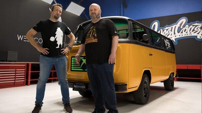 Así es la furgoneta de PUBG y Xbox One diseñada por West Coast Customs 2
