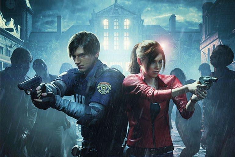 Esta es la portada de Resident Evil 2 1