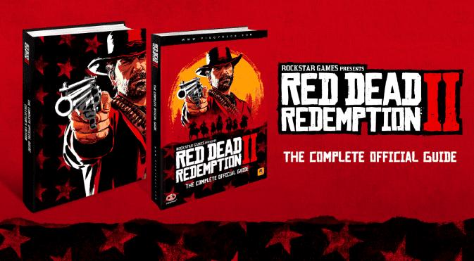 Así son las guías oficiales de Red Dead Redemption 2 2