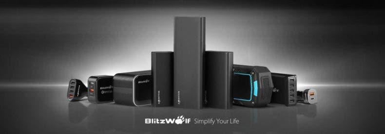 Ofertas en la marca BlitzWolf: auriculares, powerbanks, barras de sonido... 1
