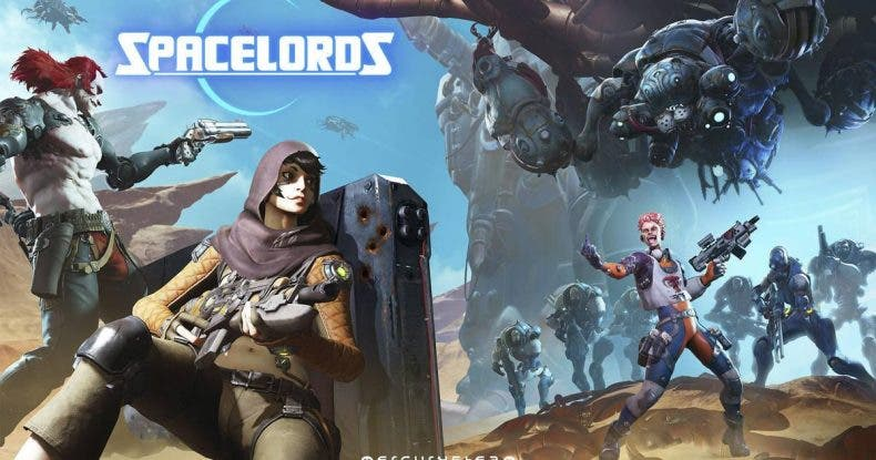 Raiders of the Broken Planet se relanza como el Free 2 Play Spacelords 1