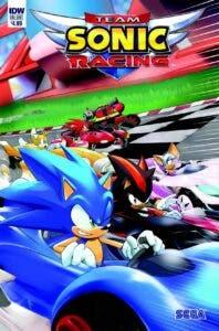 Team Sonic Racing descubre nuevo circuito y cómic 2