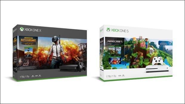 Estos son los dos nuevos packs de Xbox One S y Xbox One X 1