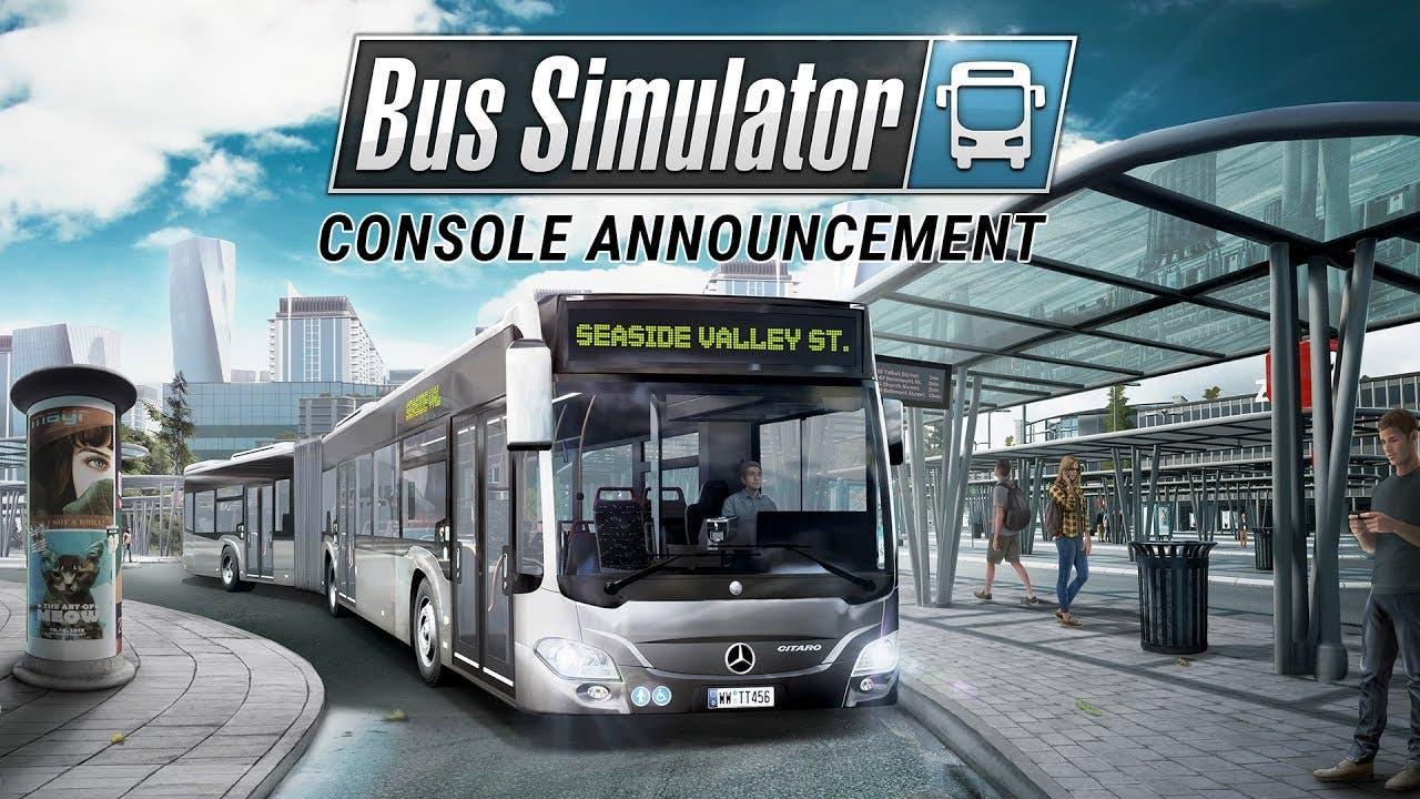 bus simulator confirma su llegada a xbox one somosxbox. Black Bedroom Furniture Sets. Home Design Ideas