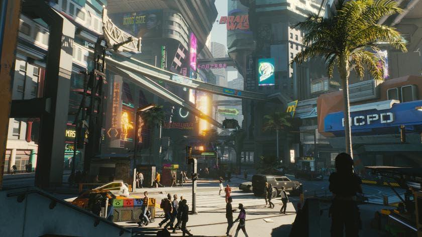 Cyberpunk 2077 incluirá climatología dinámica y lluvia ácida