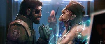 Ya puedes maravillarte con el arte de la película de Metal Gear Solid 10