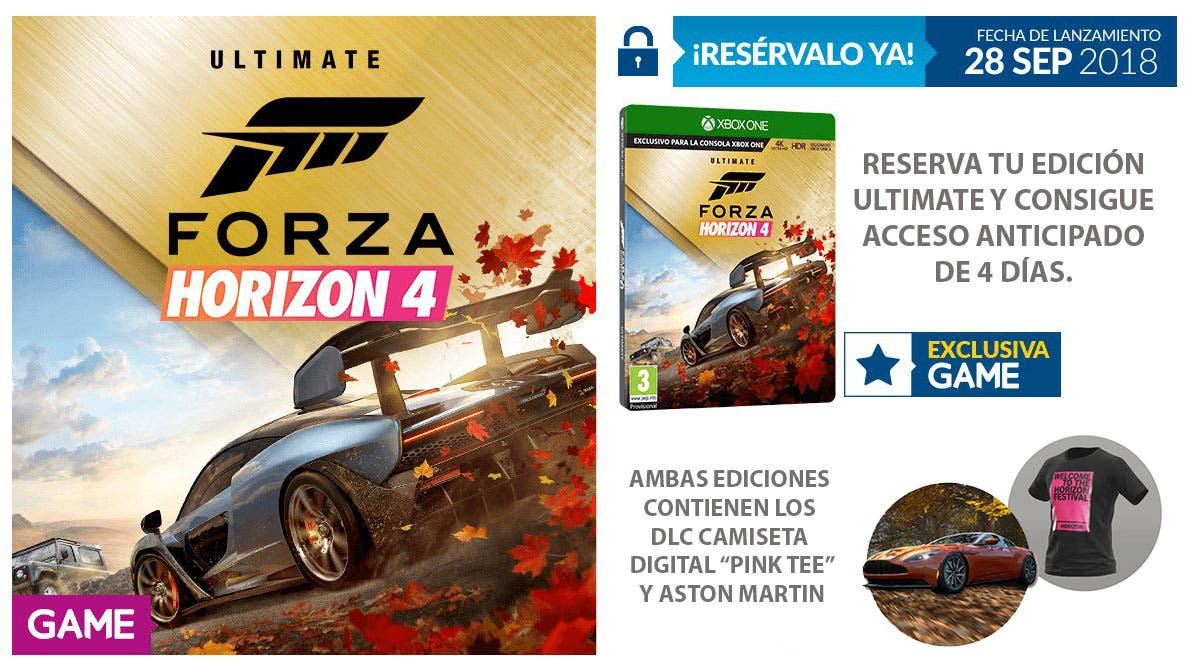 consigue recompensas exclusivas al reservar forza horizon. Black Bedroom Furniture Sets. Home Design Ideas
