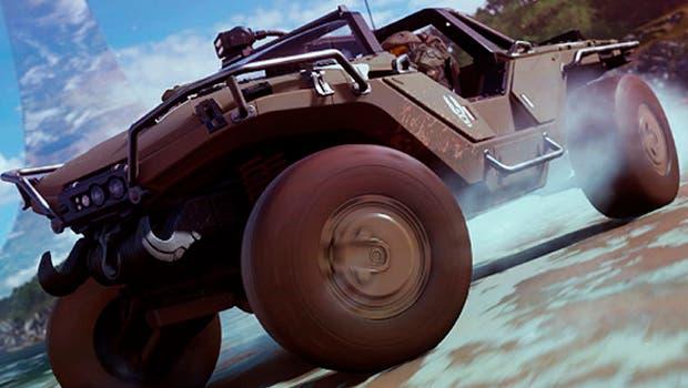 Así se conduce en Forza Horizon 4 con el Jefe Maestro de Halo 1