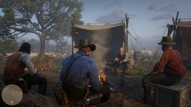 Así es Red Dead Redemption 2, funcionamiento del campamento, vínculos y Arthur Morgan 3