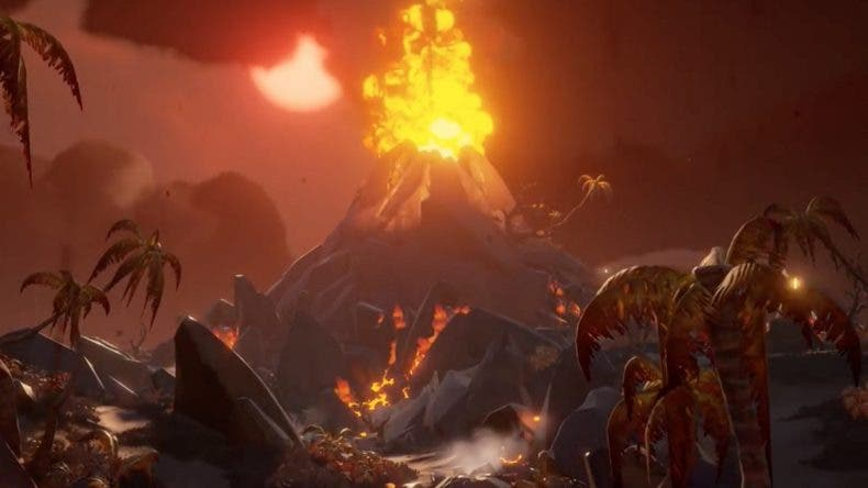 Se presenta un nuevo bioma para Sea of Thieves en Forsaken Shores 1