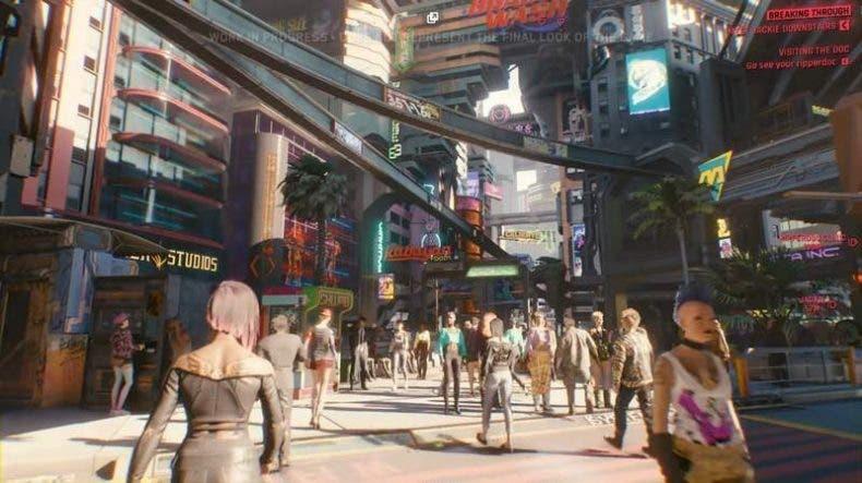 Cyberpunk 2077 tendrá modo foto 1