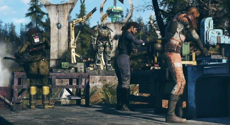 Se pone a prueba el rendimiento de Fallout 76 en Xbox One X 2