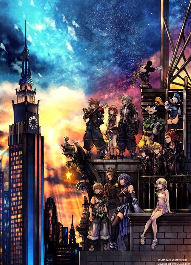 Nuevo tráiler con gameplay de Kingdom Hearts 3 y carátula del juego 2