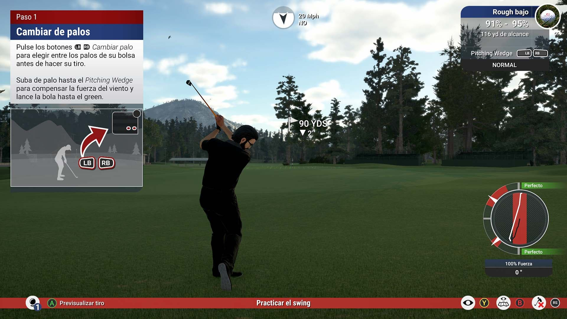 Análisis de The Golf Club 2019 featuring PGA Tour - Xbox One 5