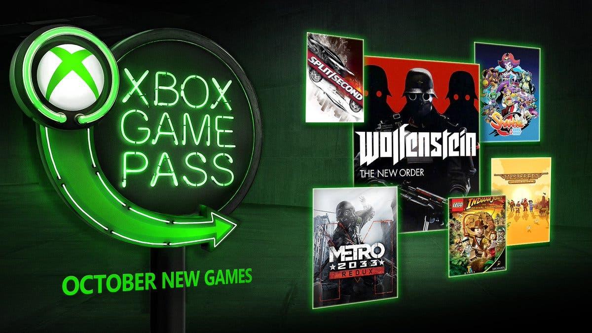 Anunciados los juegos que llegarán en octubre a Xbox Game Pass 2