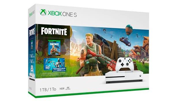 Presentado bundle de Xbox One S con Fortnite 1