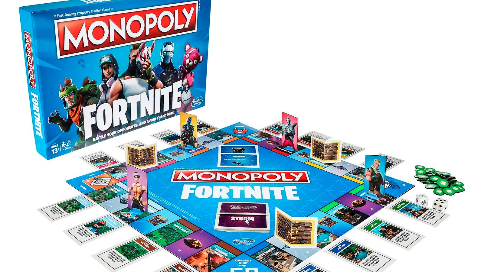 epic games y hasbro lanzar n el monopoly de fortnite somosxbox. Black Bedroom Furniture Sets. Home Design Ideas