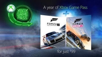 Microsoft lanza Forza Horizon 3 y Forza Motorsport 7 con un año de Xbox Game Pass 8