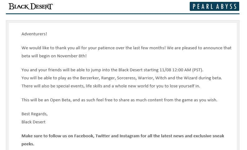 Black Desert Online concreta fecha para la primera beta en Xbox One 2