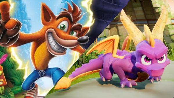 Nuevas informaciones ofrecen precio y lanzamiento del bundle de Spyro y Crash 1