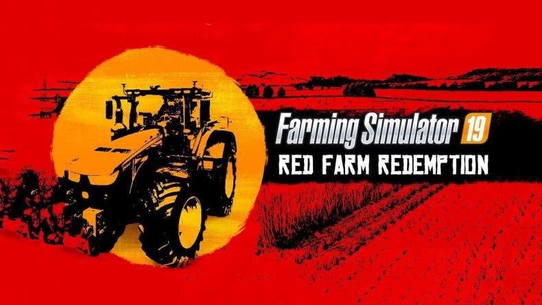 Red Farm Redemption, conquistando la granja del oeste en el nuevo trailer de Farming Simulator 19 1