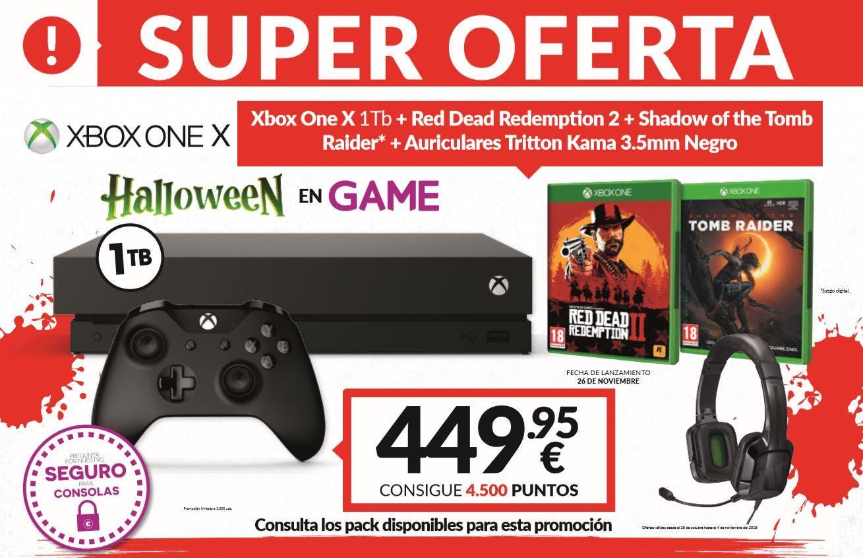 Celebra Halloween con las nuevas ofertas de GAME 2
