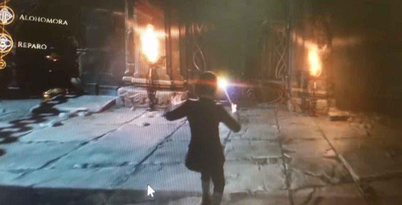 Filtrado gameplay de un juego de Harry Potter de Rocksteady 1
