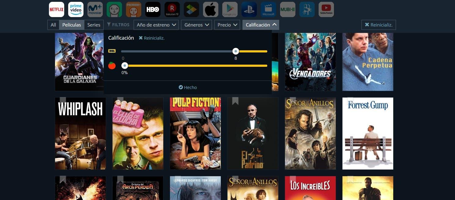 Guía para descubrir películas y series en Netflix, HBO, Amazon y Movistar+ 4
