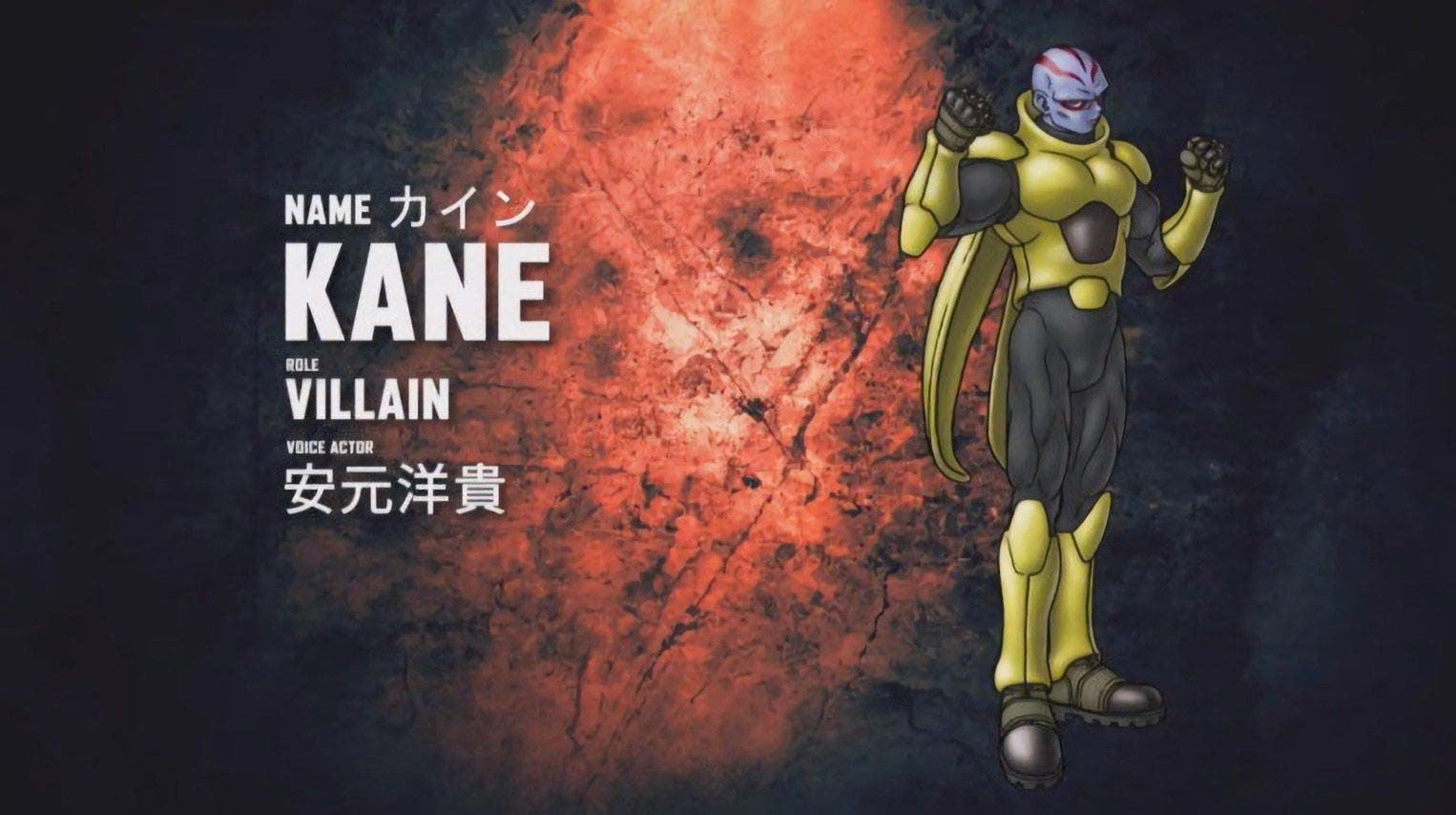 Primeras imágenes de Kane, personaje creado por Akira Toriyama para Jump Force 2