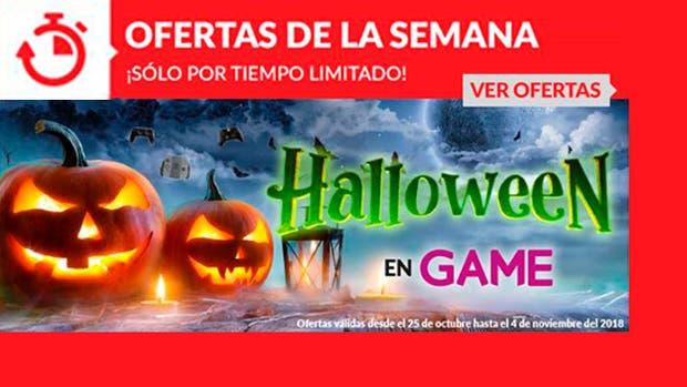 Celebra Halloween con las nuevas ofertas de GAME 1