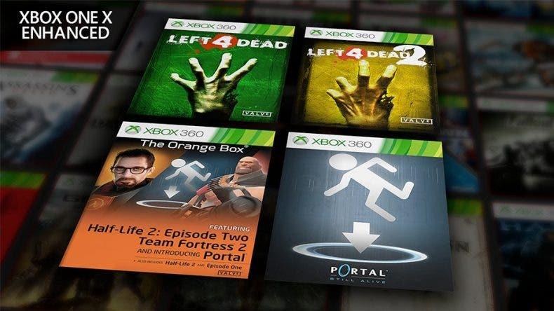 Left 4 Dead, Half Life y Portal mejoran para Xbox One X en la retrocompatibilidad 1