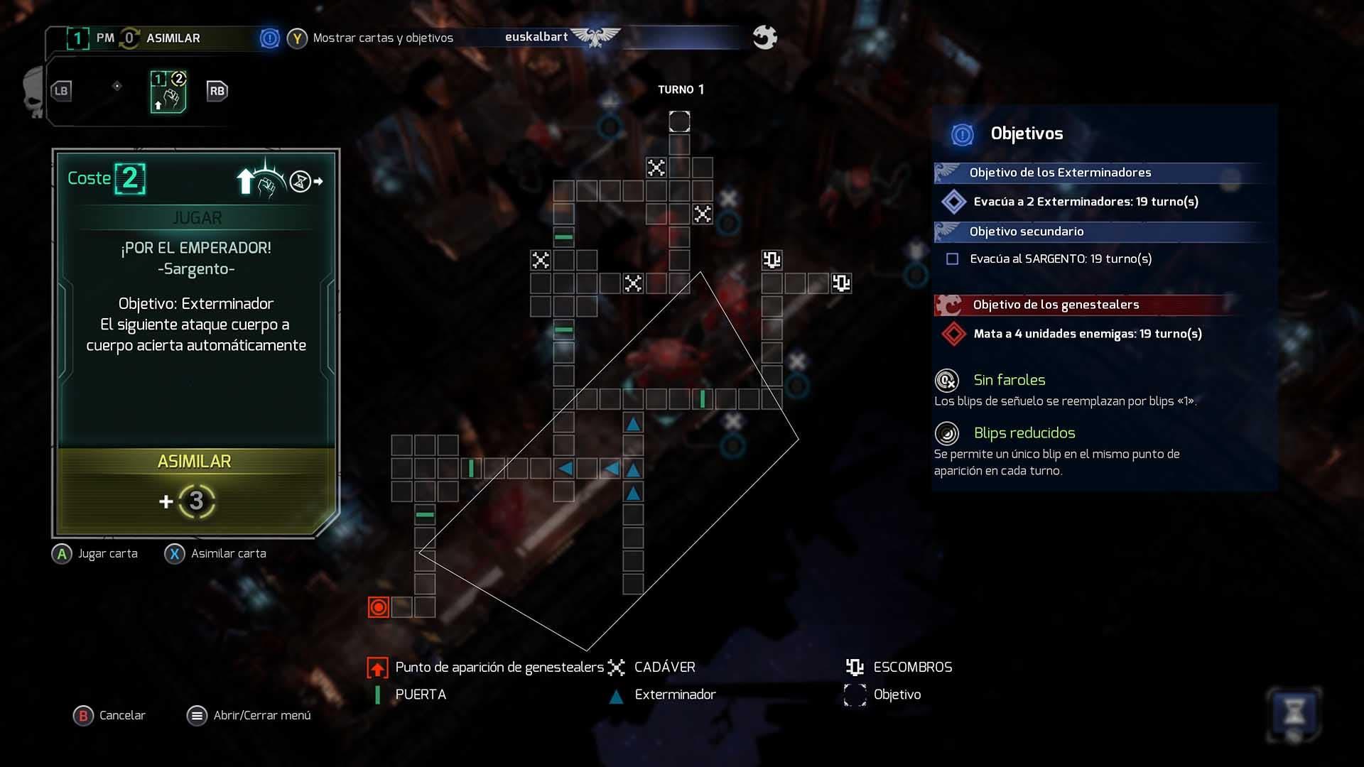 Análisis de Space Hulk: Tactics - Xbox One 2