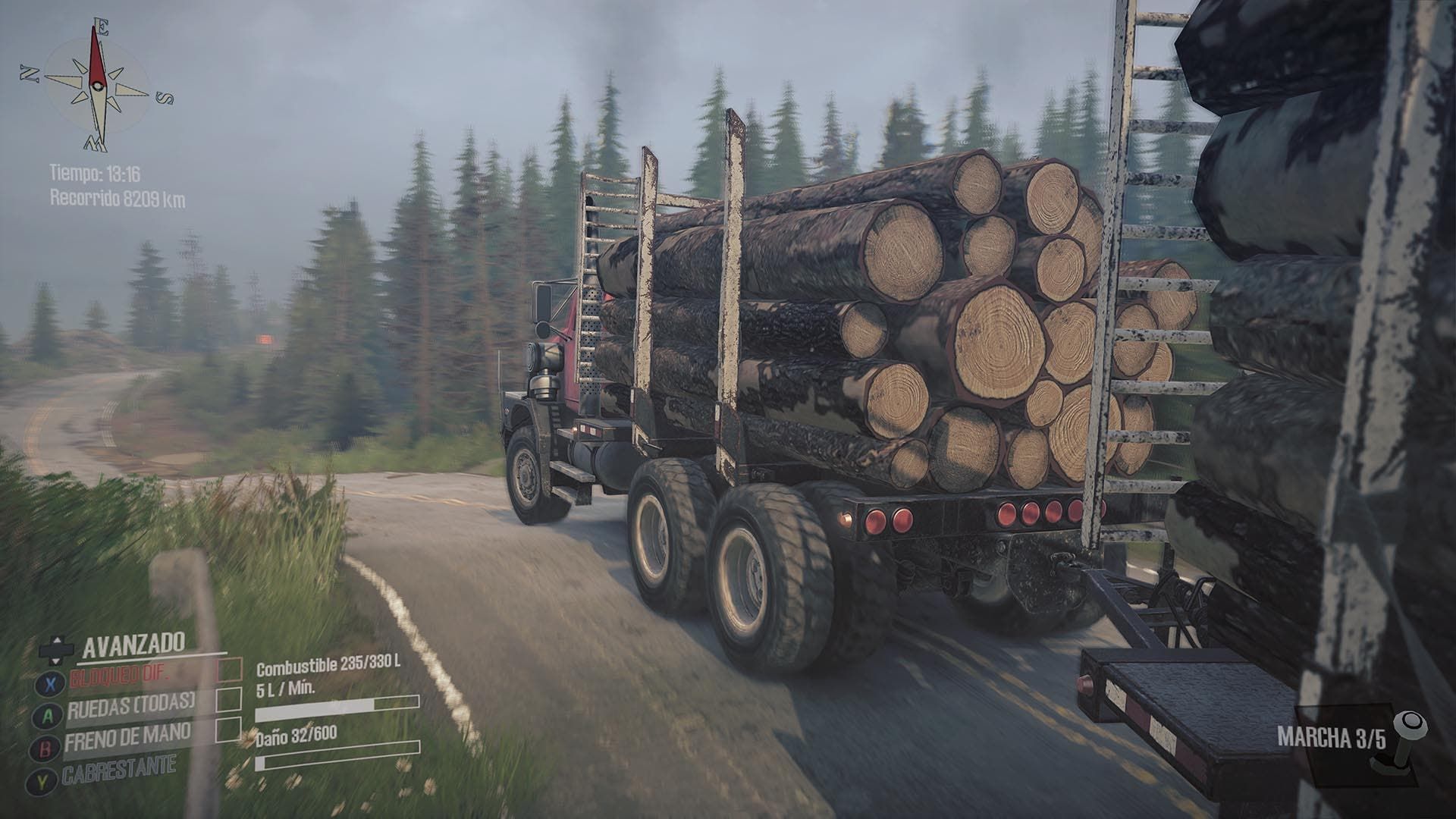 Análisis de Spintires: MudRunner - American Wilds Edition - Xbox One 2