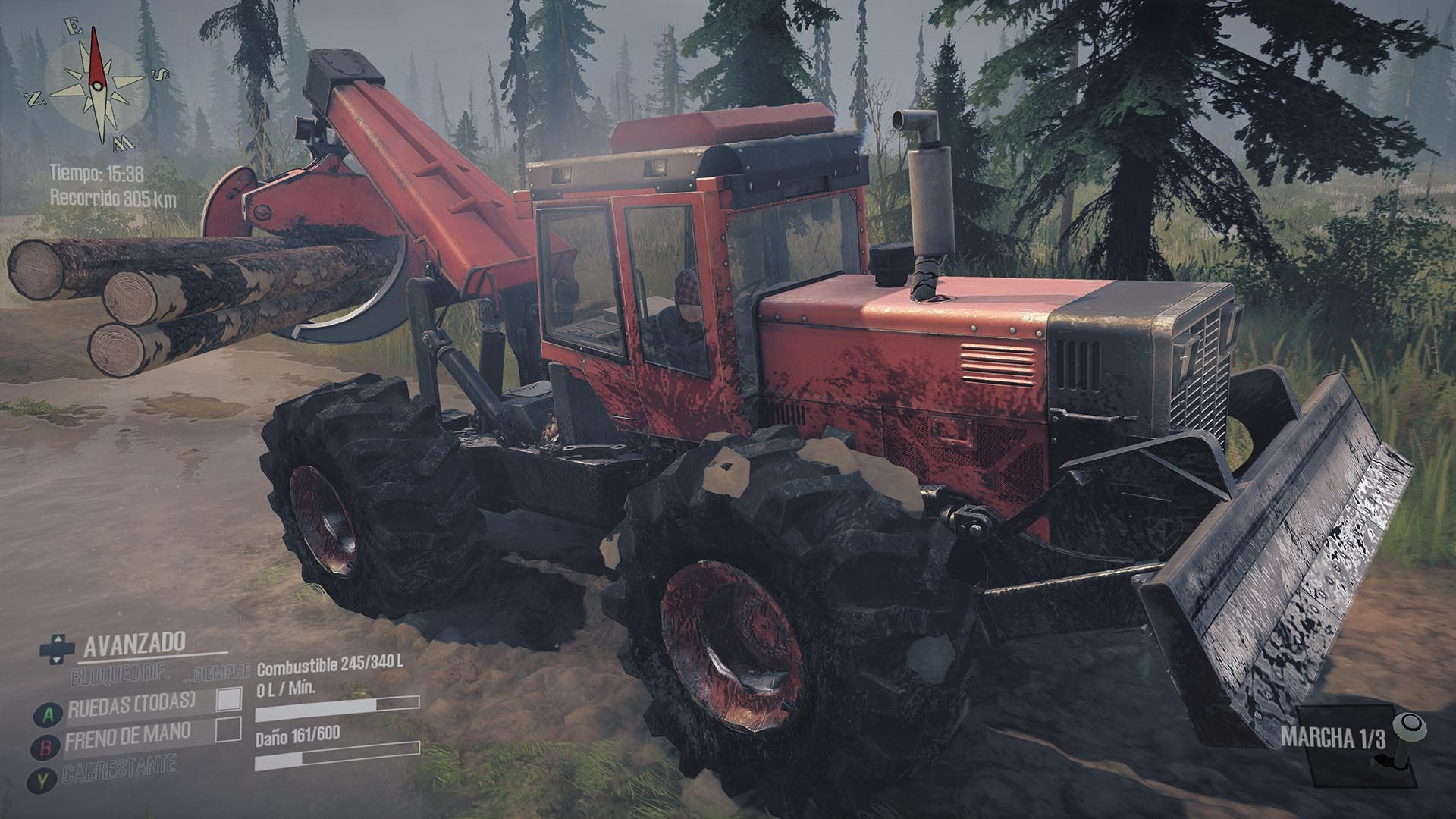 Análisis de Spintires: MudRunner - American Wilds Edition - Xbox One 3