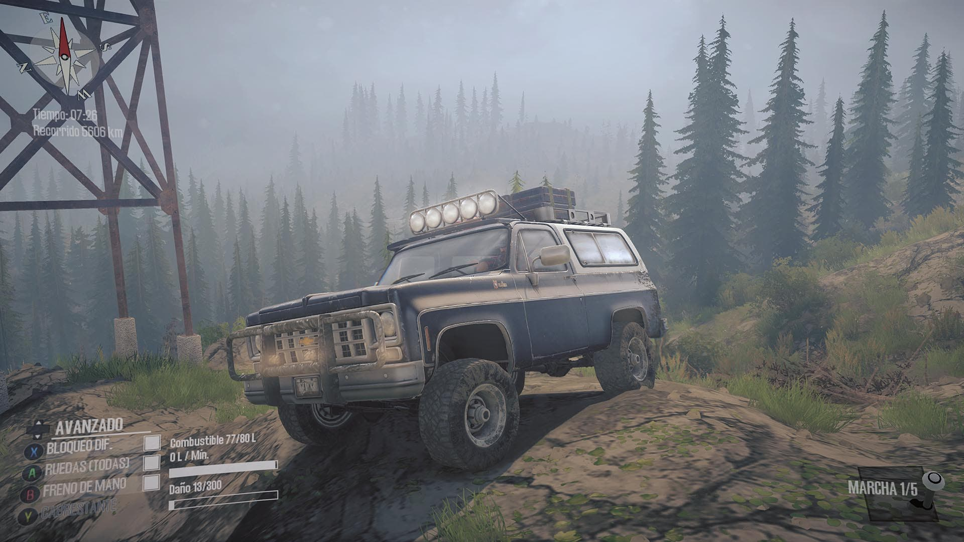 Análisis de Spintires: MudRunner - American Wilds Edition - Xbox One 8