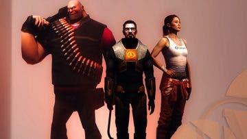 Comparan el rendimiento de Half Life en The Orange Box en Xbox One X 1
