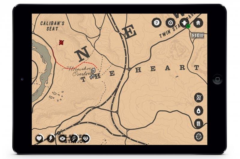 Así será la app de Red Dead Redemption 2 para el móvil 2