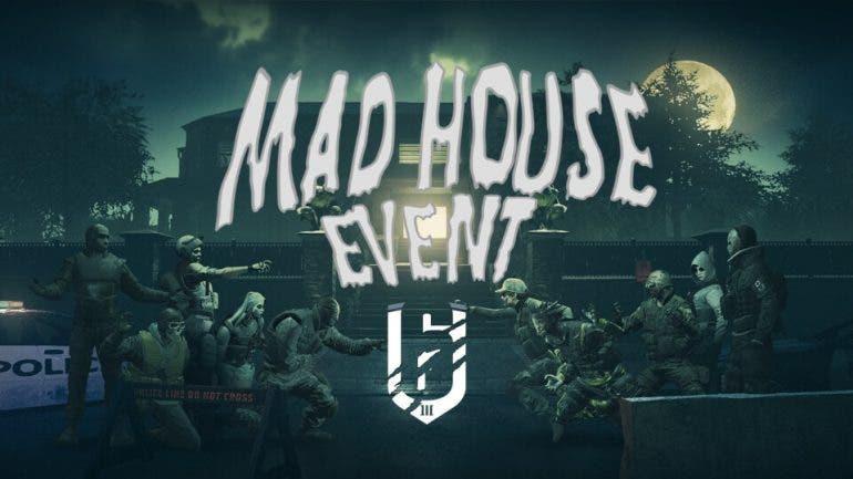 """El evento de Halloween de Rainbow Six Siege es una """"Casa de Locos"""" 1"""