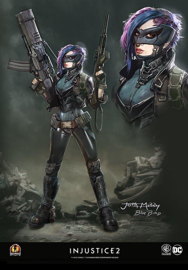 Salen a la luz diseños de los personajes descartados en Injustice 2 5