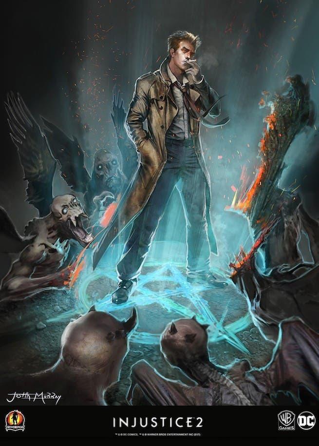 Salen a la luz diseños de los personajes descartados en Injustice 2 2