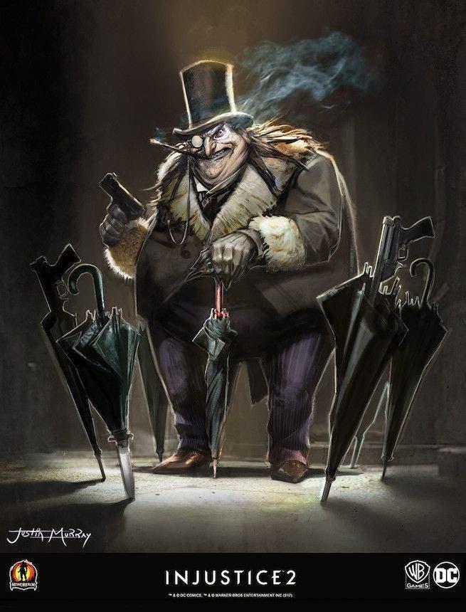 Salen a la luz diseños de los personajes descartados en Injustice 2 4