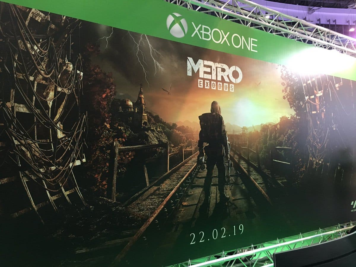 Impresiones de Metro Exodus en Xbox One X 2