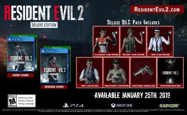Resident Evil 2 Deluxe Edition se inspira en The Evil Within y The Walking Dead 2