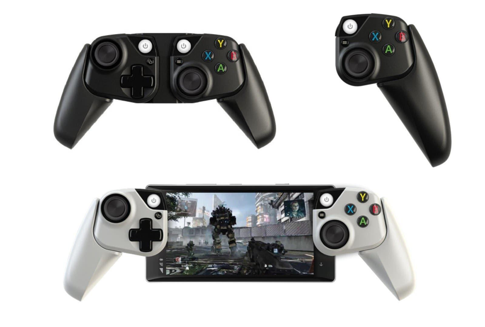 Microsoft tiene un prototipo de mando de Xbox para móviles y tablets 3