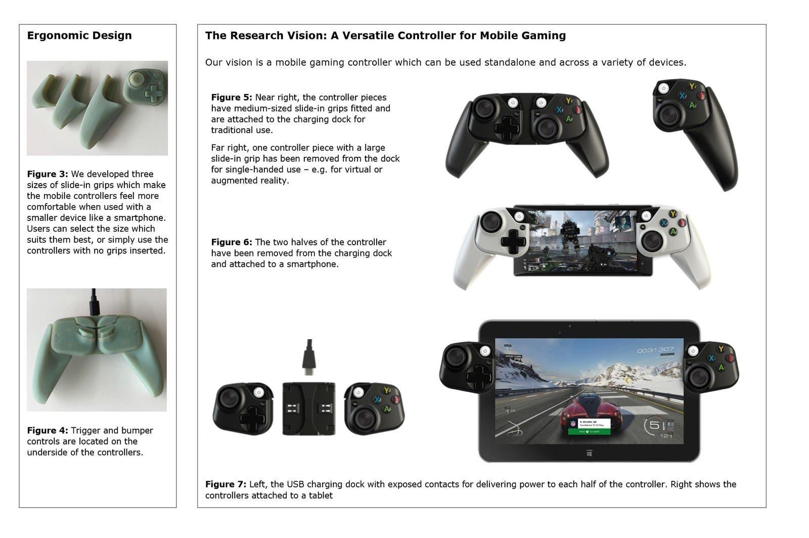 Microsoft tiene un prototipo de mando de Xbox para móviles y tablets 2