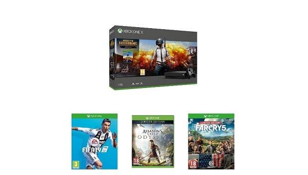Nueva oferta de Amazon UK con Xbox One X, PUBG y tres juegos más 1