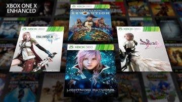 La trilogía de Final Fantasy XIII llegará mejorada a Xbox One X 8