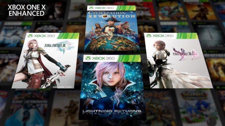 La trilogía de Final Fantasy XIII llegará mejorada a Xbox One X 1