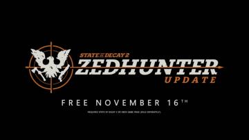 State of Decay 2 presenta Zedhunter, su nueva expansión, y contenidos para 2019 14